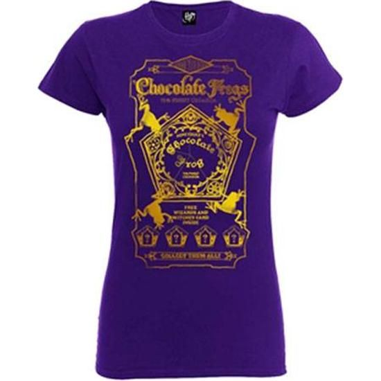 Harry Potter Chocolate Frogs T-shirt (dame model)