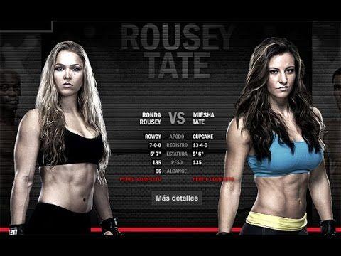 UFC 168  Ronda Rousey vs Miesha Tate FULL FIGHT