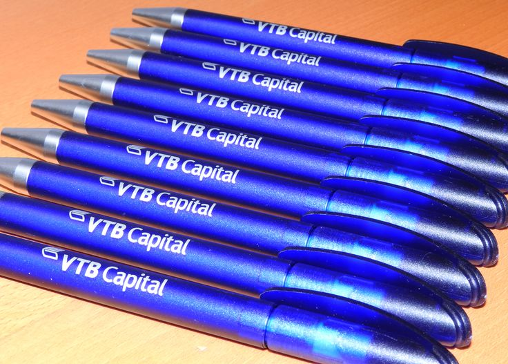 Promotional pens for VTB Capital