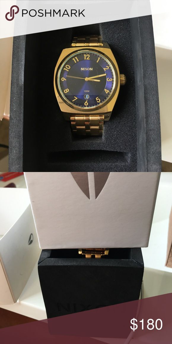 Nixon women's watch (monopoly) Brand new never worn still in original box Nixon Jewelry