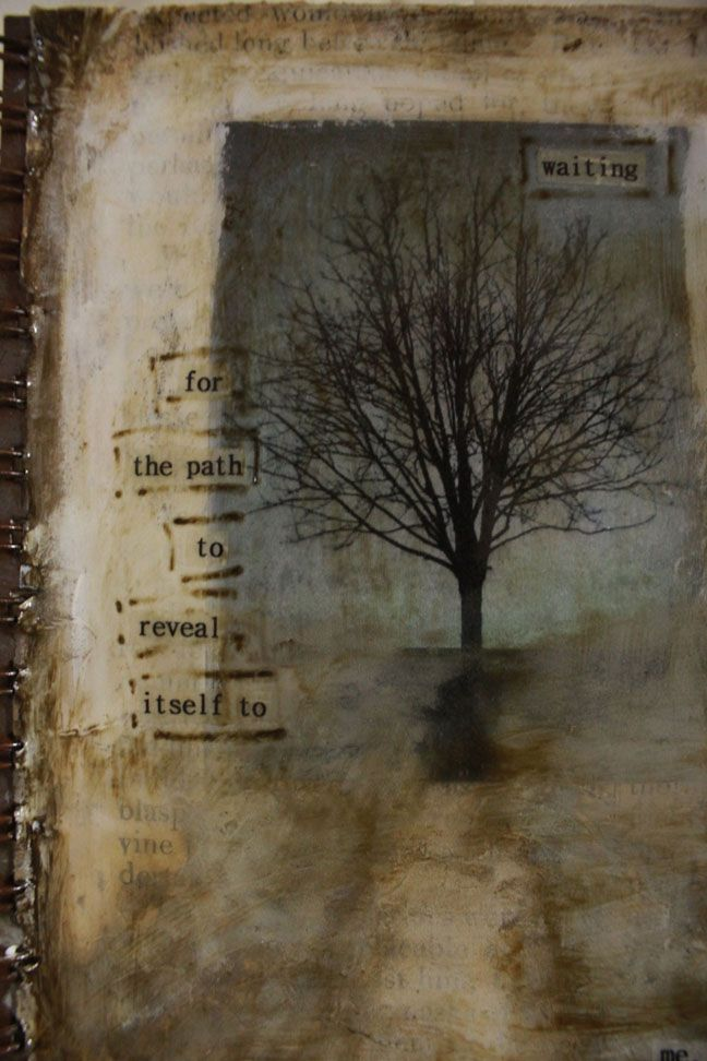 revealing...found story/ poetry in altered book (so wonderful)