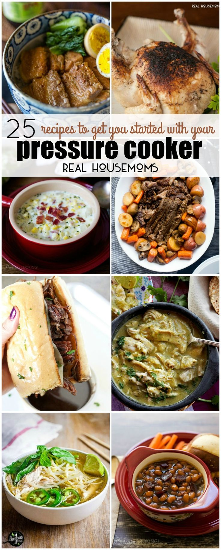 25 RECIPES TO GET YOU STARTED WITH YOUR PRESSURE COOKER. Where you like to use a classic pressure cooker or an Instant Pot, these recipes are sure to make cooking dinner a snap!