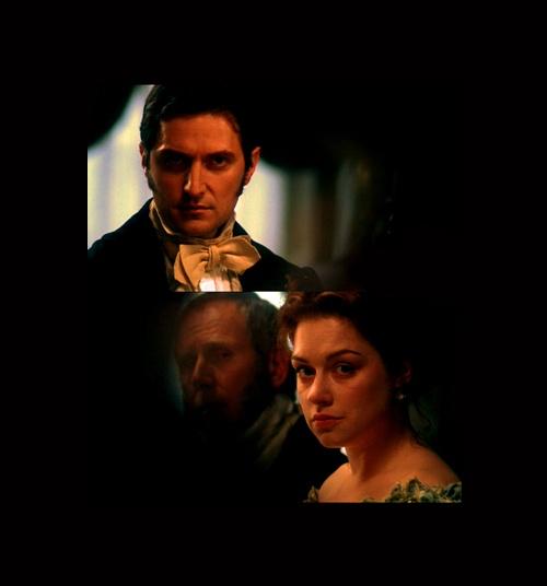 Richard Armitage (Mr. John Thornton &  Daniela Denby-Ashe (Margaret Hale) - North & South (TV Mini-Series, 2004) #elizabethgaskell