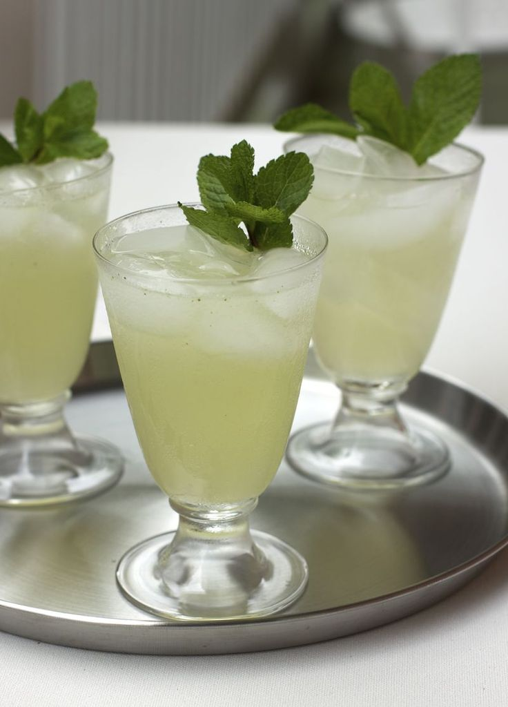 Gin Gin Mule...gin, lime, simple syrup, mint, and ginger beer...we made this one...it is REALLY good!