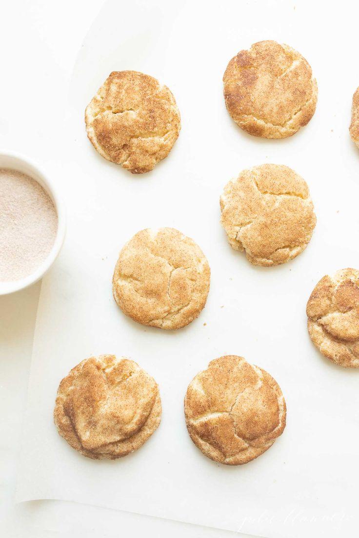 Die besten Soft Snickerdoodles | Einfaches Snickerdoodle-Plätzchen-Rezept