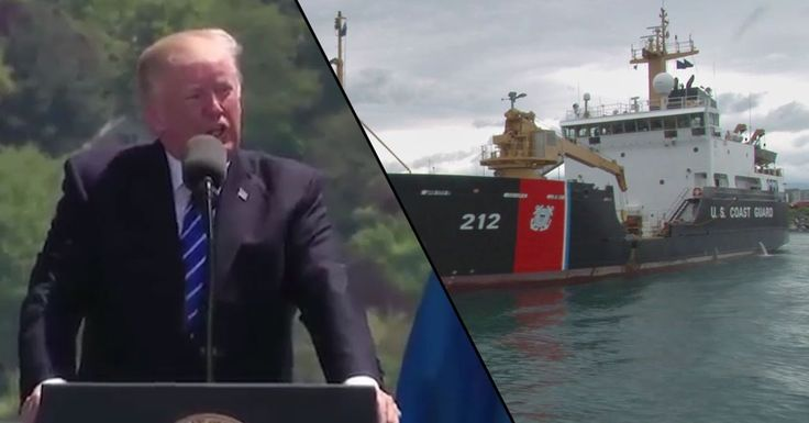 Recruitment Ad: Protect Our Nation And Trump's Feelings In The Coast Guard