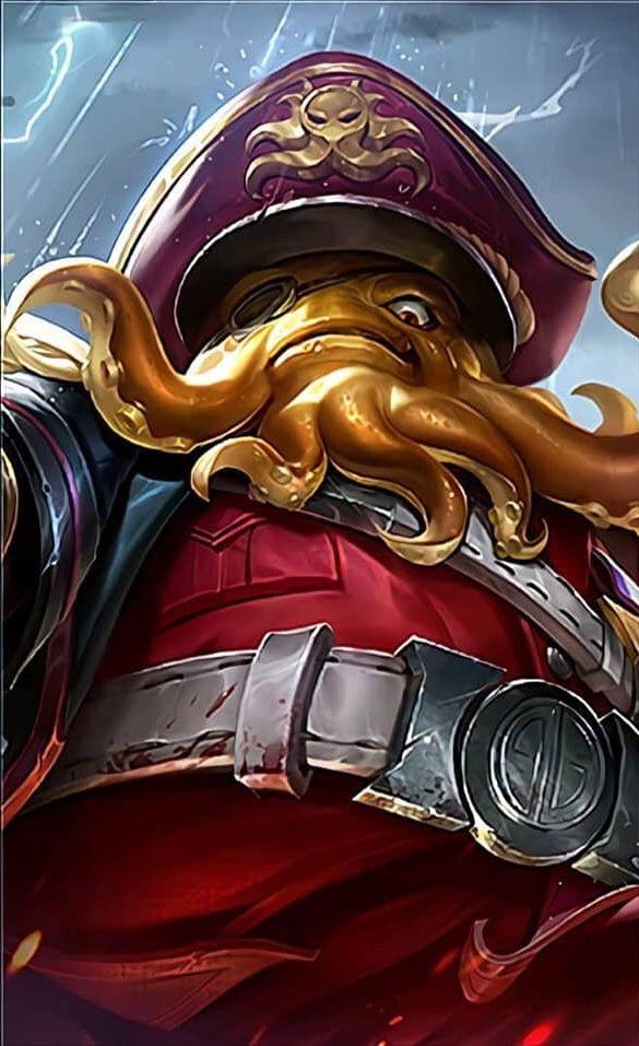 Bane Season 11 Skin Mobile Legend Wallpaper Mobile Legends Hero Fighter