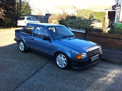 1983 FORD ESCORT RS 1600 I BLUE   - http://www.fordrscarsforsale.com/4516