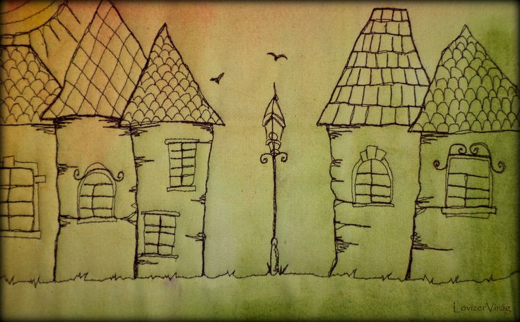 Drawing thread houses by ZerVir