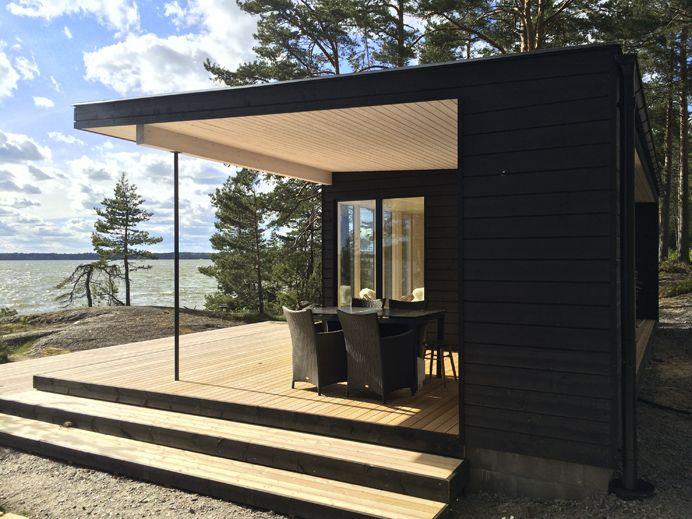Sunhouse S400 sauna building. Architect: Kalle Oikari. www.sunhouse.fi www.facebook.com/sunhousetalot