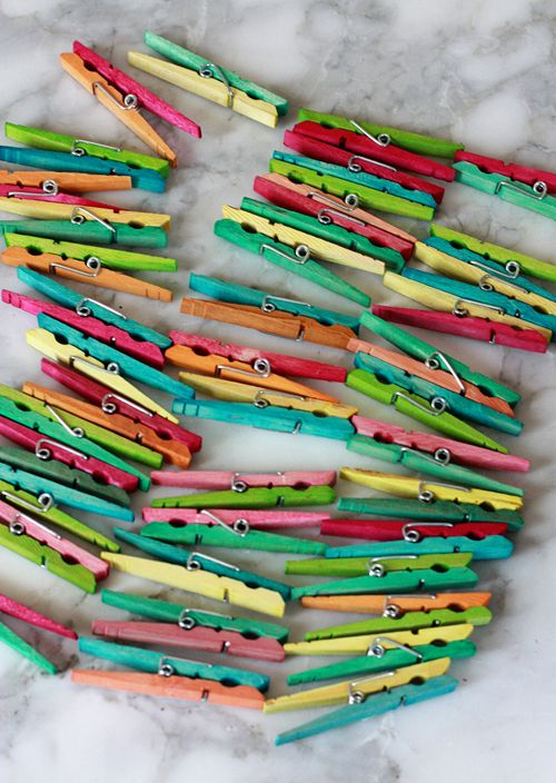 Clothespins aren't just for hanging up laundry –they are a clever and inexpensive workhorse for all around the house! Everything from...