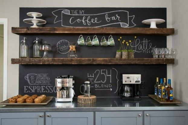 We think every home should have a coffee station