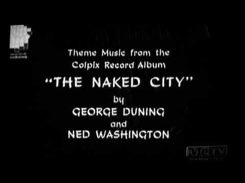 The Naked City Ending Theme Songs 1958-1959  1960-1963 - YouTube