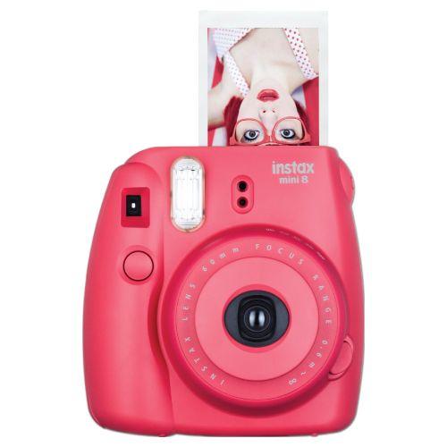 Raspberry Red Fujifilm Instax Instant Film Camera -  birthday gifts for tween girls