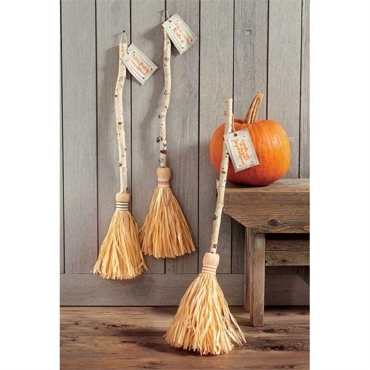Decorative Witch Broom Stick | Halloween Decor | Halloween | Pumpkins | Pumpkin | Witches | Witch | Witches Broom | Spooky | Decorating for Halloween