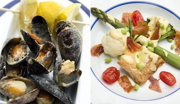 Weekendmad: Magi fra Middelhavet   Fri, Blåmuslinger i den gyldne brønd må da være en winner combo