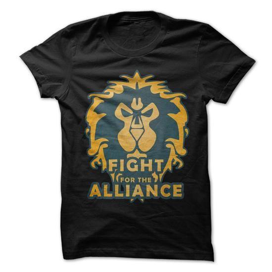 Fight for the Alliance - #gift for kids #bridal gift. GET YOURS => https://www.sunfrog.com/Gamer/Fight-for-the-Alliance.html?68278