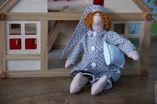 Куклы Тильды ручной работы. Ярмарка Мастеров - ручная работа. Купить Интерьерная текстильная кукла Сплюшка. Handmade. Кукла сплюшка
