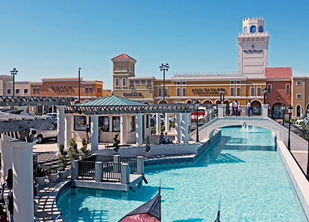 Outlet malls, man. If you're going to throw passive-aggressive elbows from inside your car just to get a parking space, the discounts (and scenery! and lunch spots!) better be worth your while. Here, five shopping compounds around the country that definitely won't disappoint.