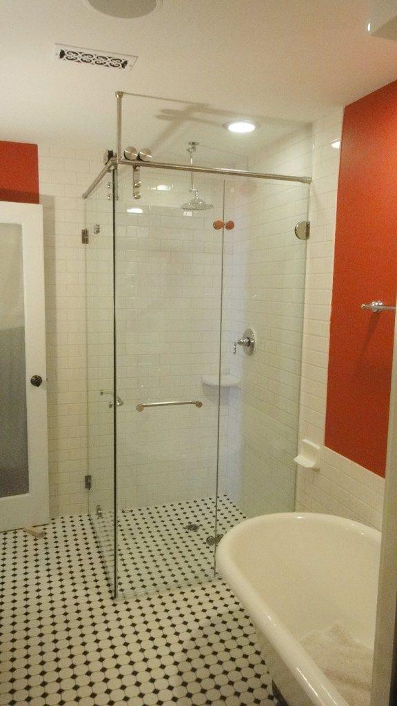 Shower Doors With Images Bifold Glass Shower Door Bifold