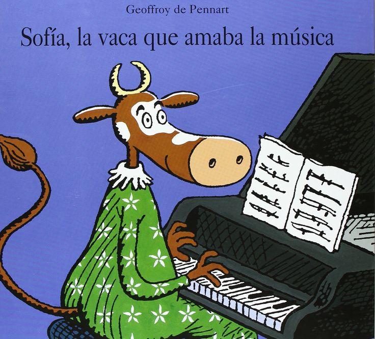 Apego, Literatura y Materiales respetuosos: Sofía, la vaca que amaba la música