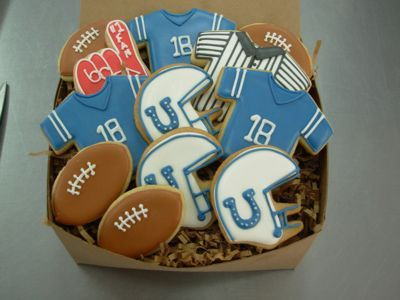 Colts cookies