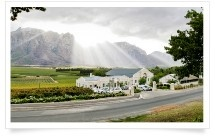 """Opstal Wine Estate Offers """"fresh tasty Cape Cuisine with flair"""""""