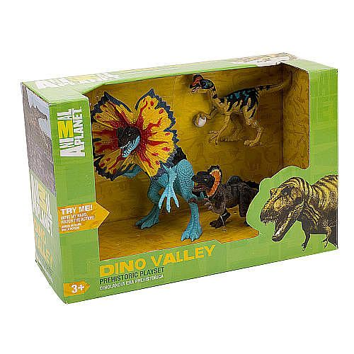 Animal Planet Prehistoric Dino Valley Playset