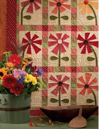 """I love this! It is from the book """"Folk Art Quilts """"by Tammy Johnson and Avis Shirer"""