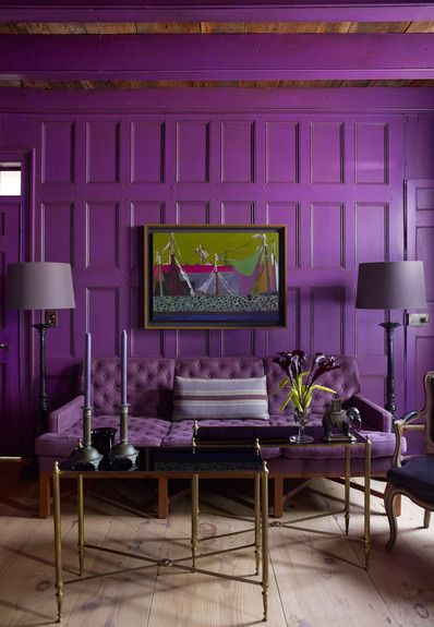 17 Best Ideas About Purple Interior On Pinterest Plum Walls Purple Sofa An