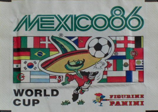 Panini World Cup 86 Mexico Sticker Packet