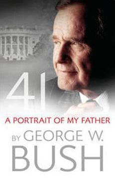 George W. Bush – 41: A Portrait of My Father Many books have been written about various US leaders – but never before has a President written a book about his father; another President. He was the 41st President and his career saw combat service in the Pacific during World War II, as well as his work in the Texas oil industry. The story is told through George W. Bush's own words, taking the reader back to his childhood and exploring his father's influence.