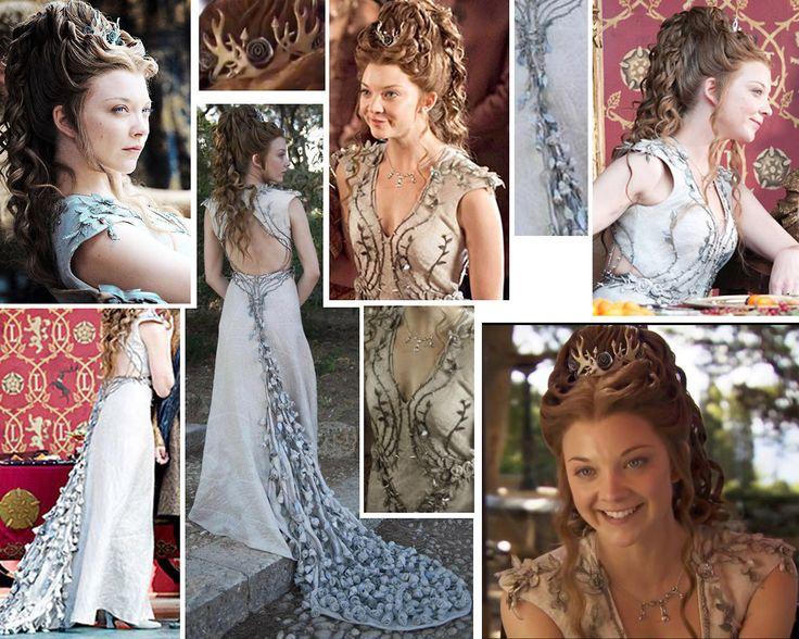 Margaery Tyrell Cosplay Refs and Help! Fabric ideas, tutorials