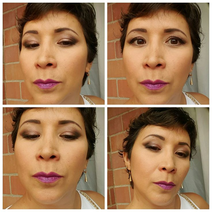 #newyearmakeup #makeupartist #makeupgirl #beauty #shimmer #purple #creamseyeshadow #linerkatVonD #dermacolor #sephora