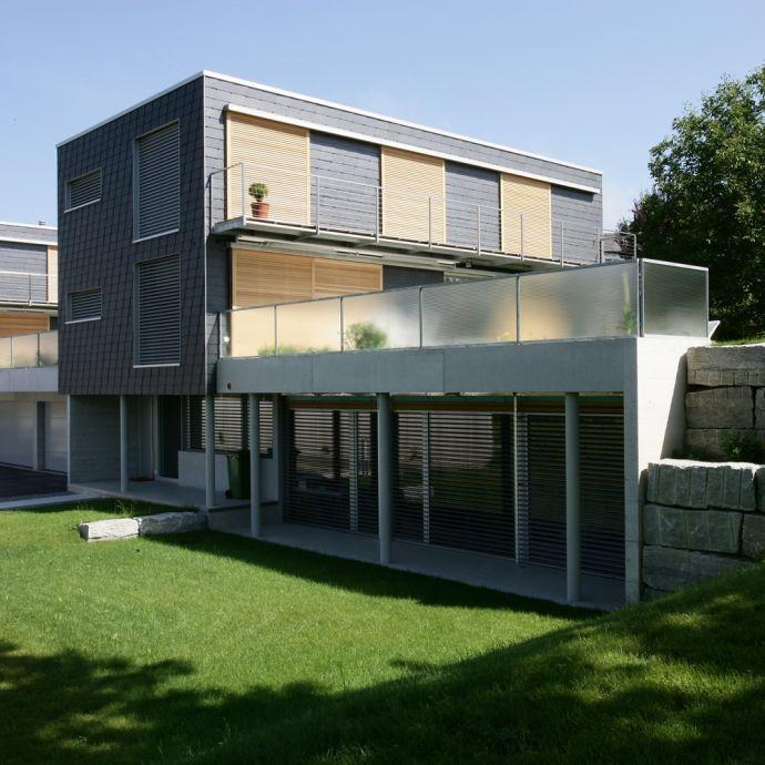 Einfamilienhaus in Waagerechter Deckung von Rathscheck Schiefer