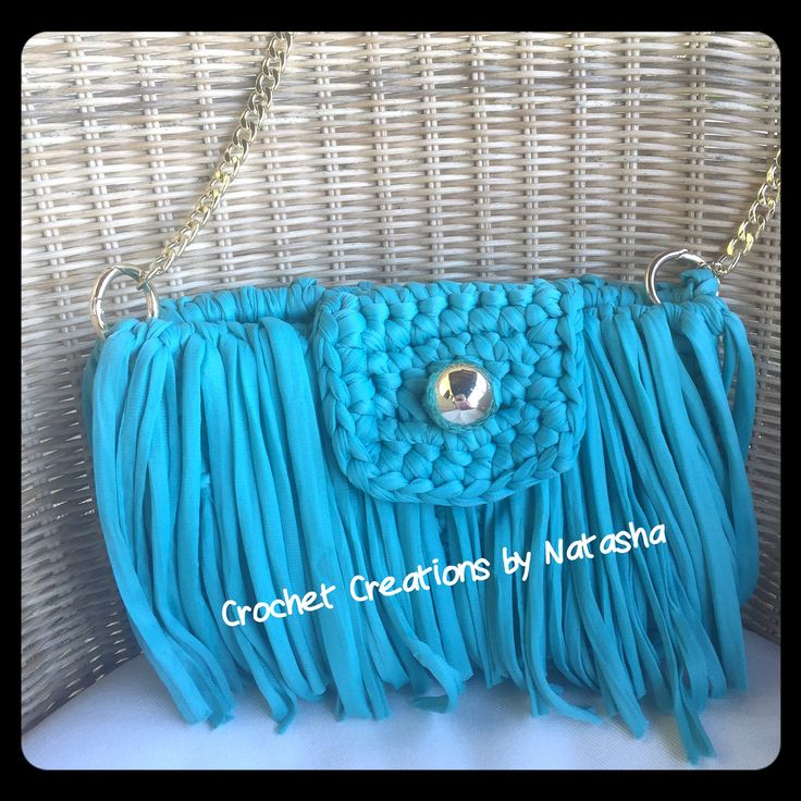 Crazy girl!!! Turquoise  handmade crochet bag with gold details and lots and lots of fringes! Can be worn all day long ... #turquoise  #bag #handbag #crochetbag #mykonos #spetses #crochetcreationsbynatasha  #fashion #fashionblogger #greekfashionbloggers #chic #unique #fabulous #summeringreece  #summerbag  #handibrand  #moda #fashionista  #newlabel #newdesigns #iloveit #instafashion #fashionmagazine #fashionworld #fashionstylist #uniquestyle  #instamood  #crazygirl #custommade #fringes