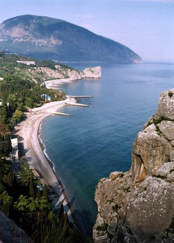 Black Sea; Gurzuf, Ukraine