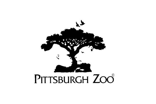 Pittsburgh Zoo Logo. Nok det bedste logo til at anvende det negative rum