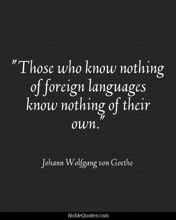 Language Learning Quotes. QuotesGram