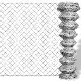 Galvaniserat Kedja Länk Staket 15 x 1,5 m
