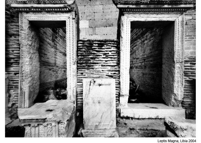 Mimmo Jodice - Mediterraneo - Leptis Magna - Libia, 2004
