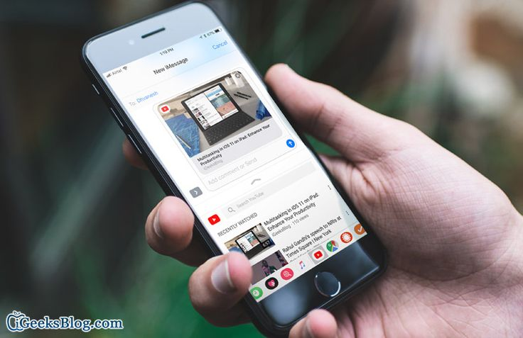 How to Share #YouTube Videos Using #iMessage App on iPhone and iPad