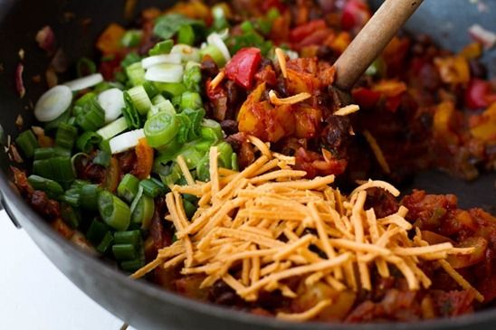Vegan Enchilada Casserole | Vegan & Vegetarian | Pinterest