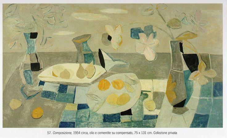 Ugo Castellani - Composizione 1954