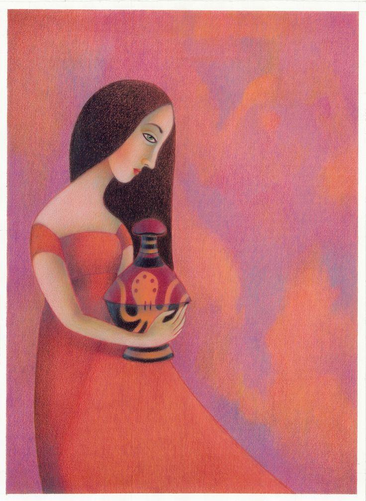 """""""Il vaso di Pandora"""". Illustrazione di Marco Lorenzetti."""