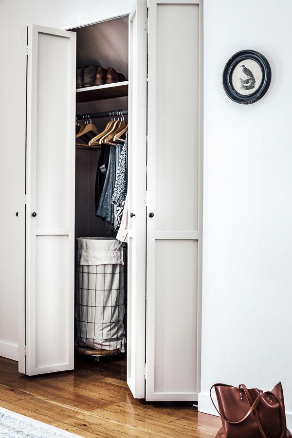 Bi Fold Closet Doors Makeover Custom Closet Doors Closet Door