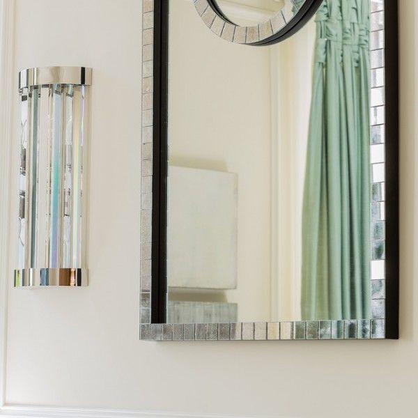Spiegel-deko wohnzimmer  Interieur Design  Pinterest