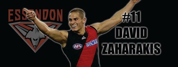 David Zaharakis #11 Essendon Football Club
