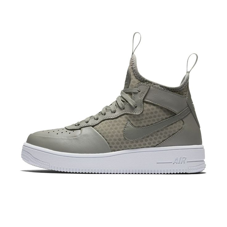 81a5feeed6afe cuir blanche nike air force 1 ultraforce mid chaussure de basketball ...