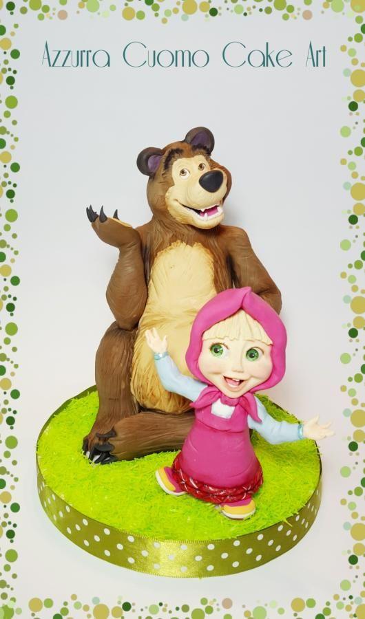 Masha and the Bear - Cake by Azzurra Cuomo Cake Art
